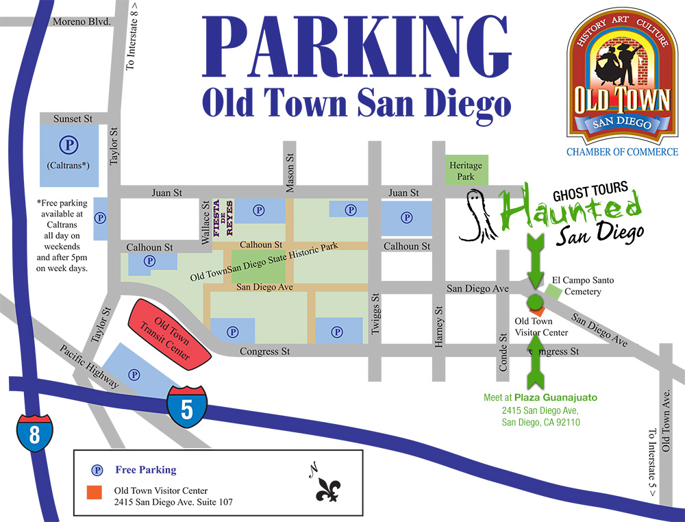 old-town-haunted-ghost-tour-parking-location-map